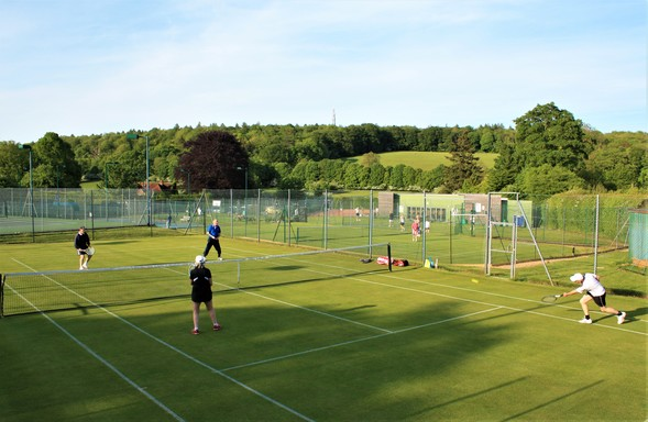 tennis in the chilterns